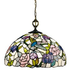 <strong>Dale Tiffany</strong> Nature Hummingbird 1 Light Pendant