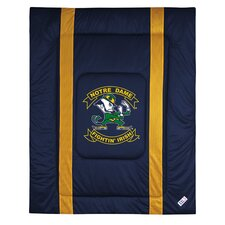 NCAA University of Notre Dame Sidelines Comforter