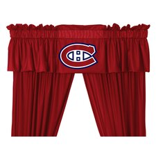 NHL Curtain Valance