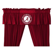 NCAA Rod Pocket Tailored Curtain Valance