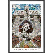 NCAA Mosaics Framed Graphic Art