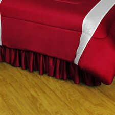 NHL Polyester Jersey Bed Skirt