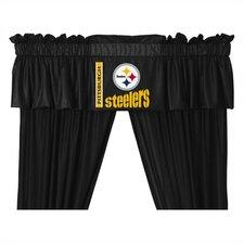 """NFL 88"""" Curtain Valance"""