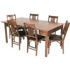 <strong>Stakmore Company, Inc.</strong> Mission Style Expanding Dining Table