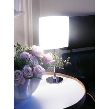 "Sara 18.5"" H Table Lamp with Drum Shade"