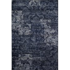 Hudson Navy Patch Rug