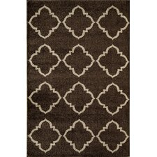 <strong>Rugs America</strong> Hudson Brown Lattice Rug