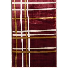 Ambrose Crimson Threads Rug