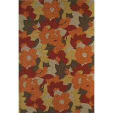 Lenai Rust/Brown Spring Foliage Rug