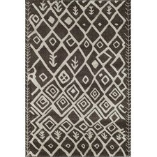 Tangier Brown Geometric Rug