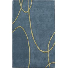 Millennium Electric Blue Rug