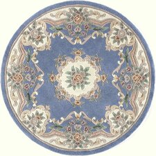 New Aubusson Light Blue Rug