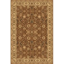 New Vision Brown Tabriz Rug