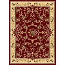 New Vision Red Souvanerie Rug