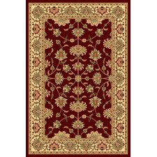 New Vision Cherry Kashan Rug