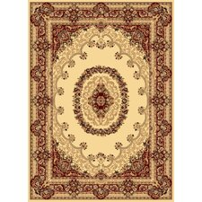 New Vision Cream Kerman Rug