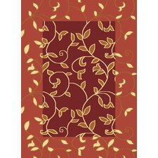 Torino Red Vineyard Rug