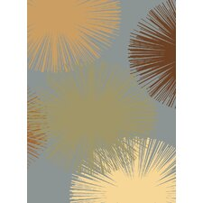 Torino Light Blue Fireworks Rug