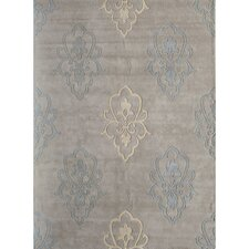 Allure Silver Crown Rug