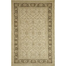 Peshawar Cream/Brown Trellis Rug
