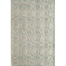Salerno Light Blue Panel Rug