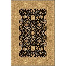 Sorrento Black Tabriz Rug