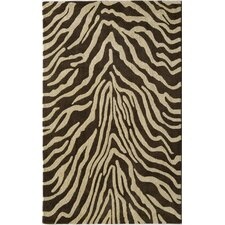 Urban Brown Zebra Rug