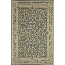 Verona Light Blue Vines Rug
