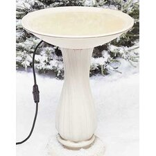 Heated Plastic Bird Bath
