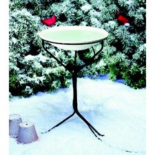 Stand Heated Bird Bath