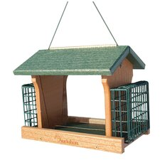 Going Green Ranch Suet Hopper Bird Feeder