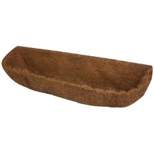 Hampton Dutchess CocoMoss Fiber Wall Planter Liner (Set of 6)