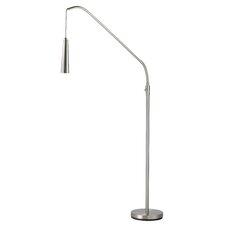 "Ballast LED Arc 86"" H Table Lamp with Empire Shade"