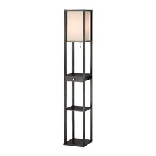 <strong>Adesso</strong> Parker Shelf Floor Lamp