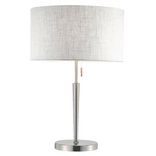 "Hayworth 22"" H Table Lamp with Drum Shade"