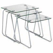 <strong>Adesso</strong> 3 Piece Nesting Tables
