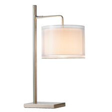 "Harlow 33.75"" H Table Lamp with Drum Shade"