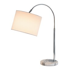 "Grace 23.5"" H Table Lamp with Drum Shade"