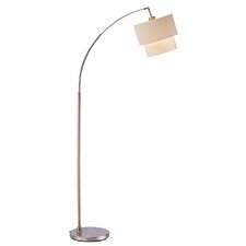 Streamer 1 Light Arched Floor Lamp