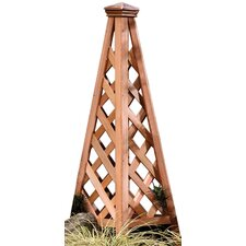 Copper Clad Pyramid Trellis