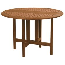 Kapur Wood Celebration Drop Leaf Round Table
