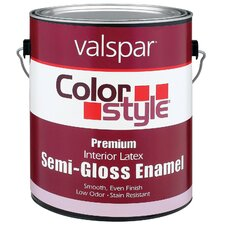 1 Quart Clear Base ColorStyle® Interior Latex Semi Gloss Enamel Pa