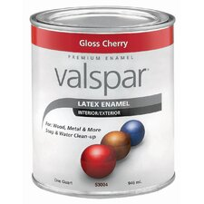 1 Quart Cherry Gloss Latex Enamel 410-65014 QT
