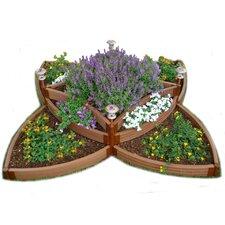 Composite Versailles Sunburst Raised Bed Garden Kit