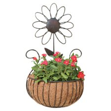 Daisy Wall Basket Planter