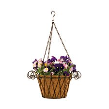 Flower Basket Round Planter