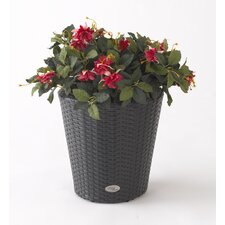 <strong>DMC</strong> Vista Resin Wicker Round Planter