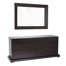 <strong>LifeStyle Solutions</strong> Zurich 6 Drawer Dresser