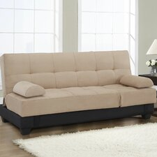 Serta Dream Convertible Sofa in Beige