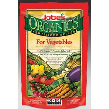 Weatherly Organics Vegetable Fertilizer Spikes